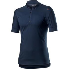 Castelli Tech Poloshirt Heren, dark infinity blue